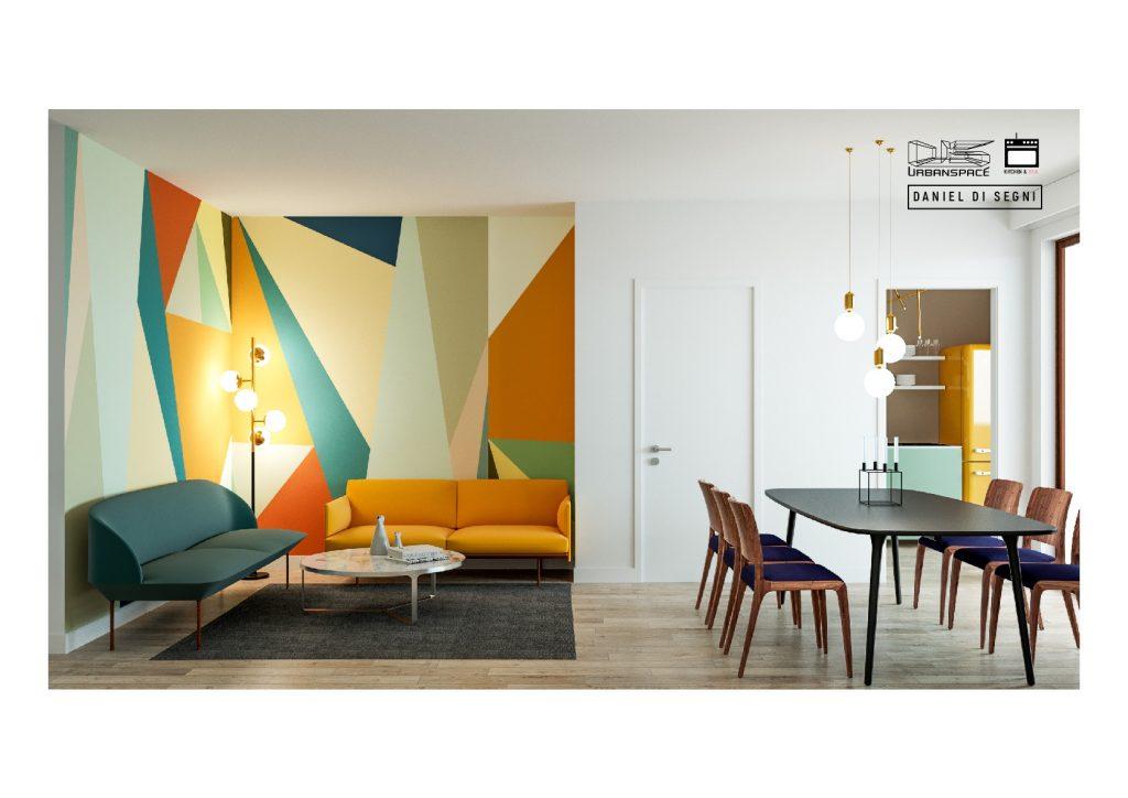 L\'uso del divano nel soggiorno - collinadellemuse
